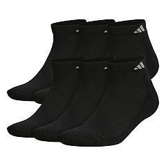 Big & Tall adidas 6-pack Low-Cut Socks