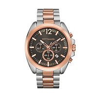 Wittnauer Men's Two Tone Stainless Steel Chronograph Watch - WN3023