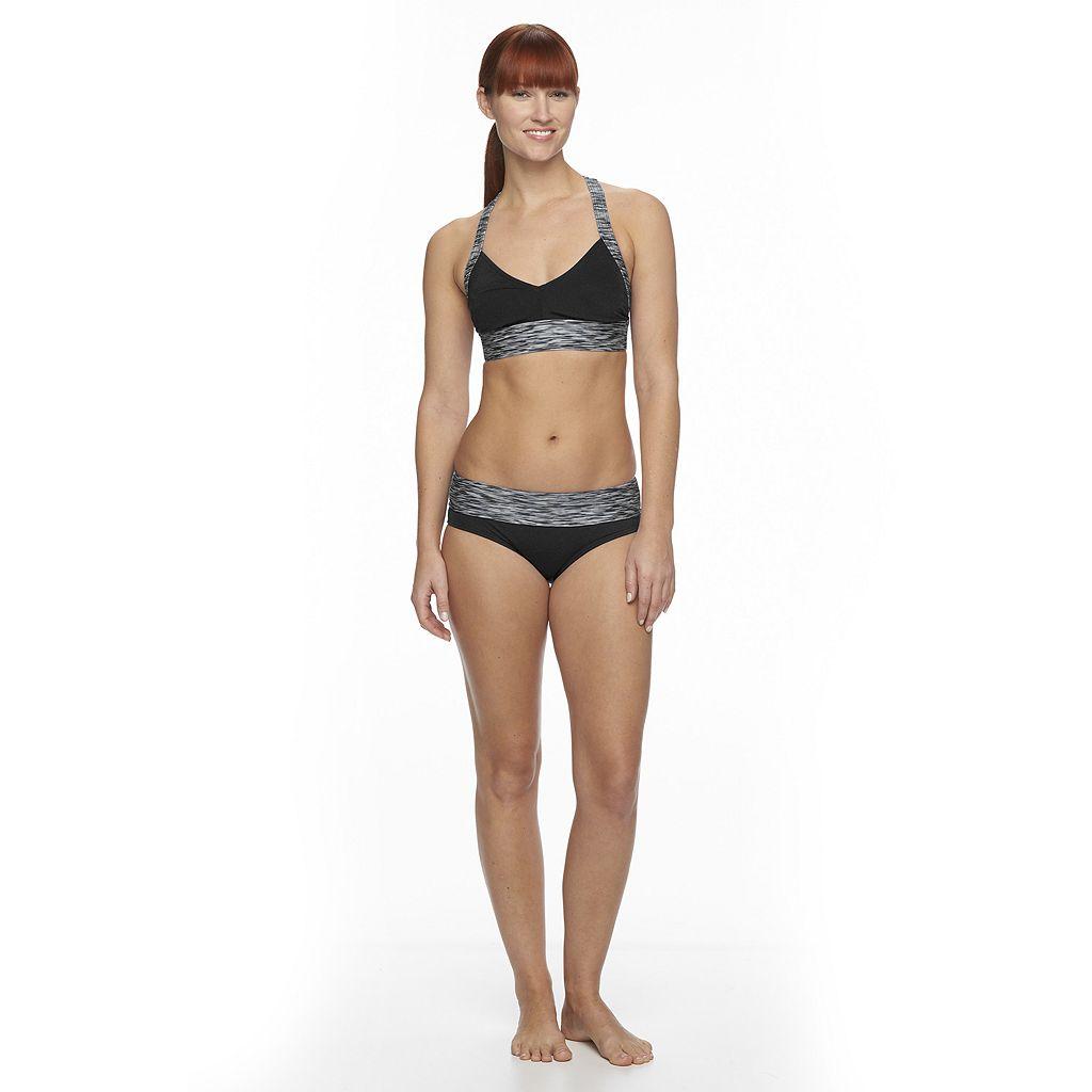 Women's TYR Space-Dye Racerback Bikini Top