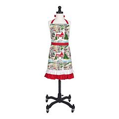 KAF HOME Winter Village Holiday Apron