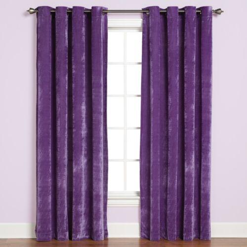 Saturday Knight, Ltd. Plush Curtain