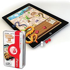 iPieces Snakes & Ladders Game by Pressman Toy by