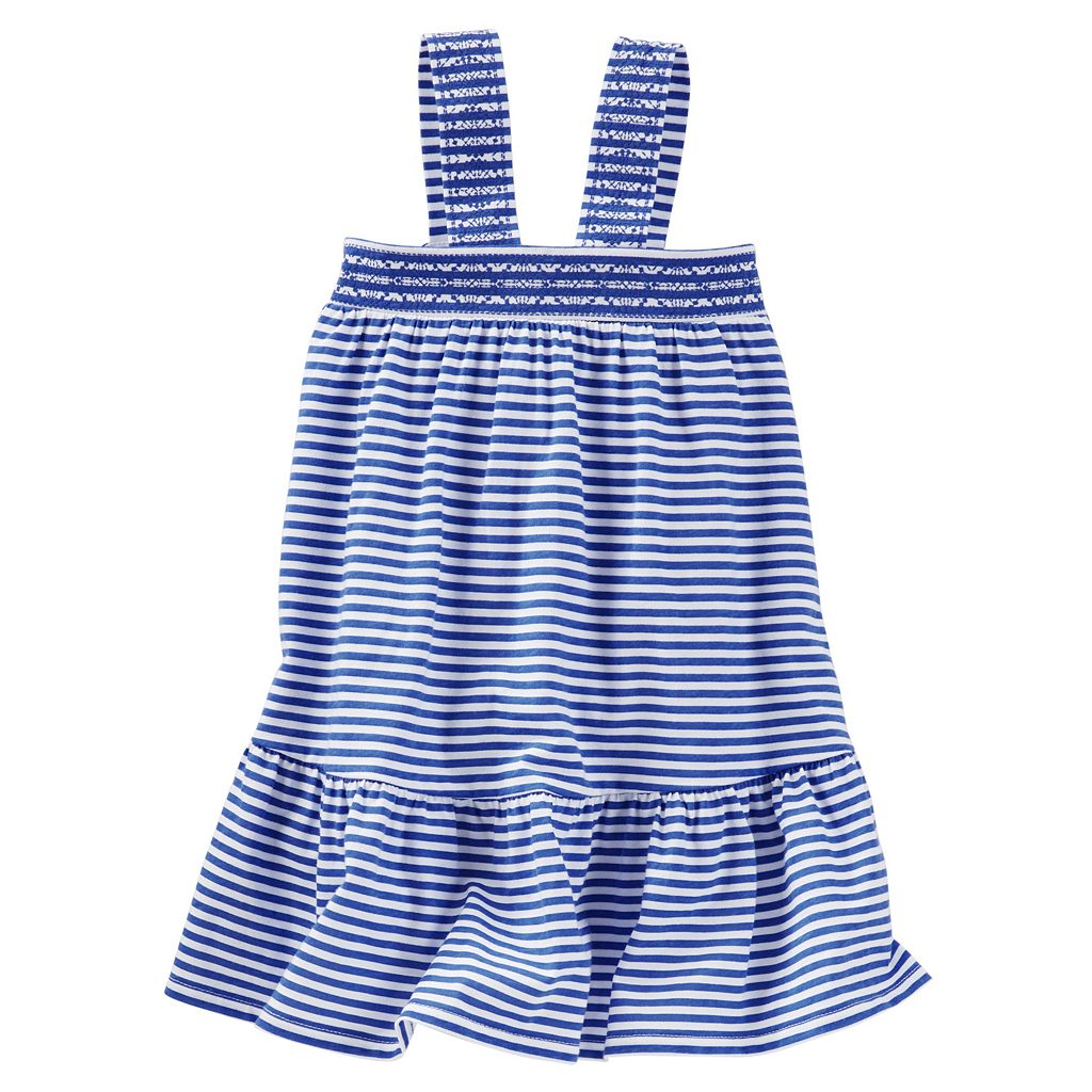 Toddler Girl OshKosh B'gosh® Striped Drop-Waist Dress