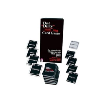 "That ""Dirty"" (blank)ing Card Game by TDC Games"