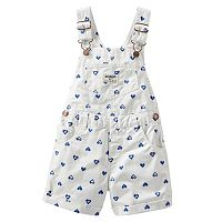Toddler Girl OshKosh B'gosh® Printed Shortalls