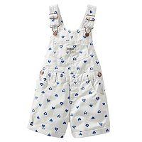 Toddler Girl OshKosh B'gosh® Printed Shortalls