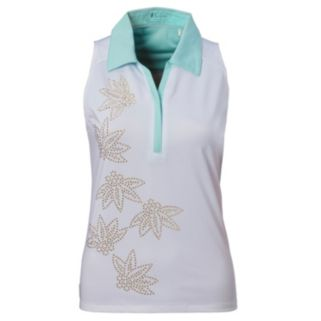 Women's Nancy Lopez Wish Sleeveless Golf Polo