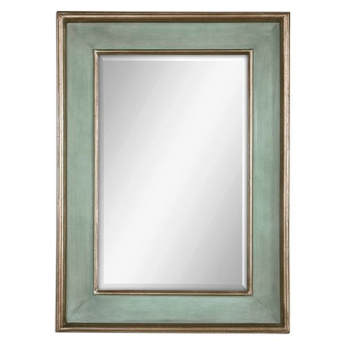 Uttermost Ogden Blue Wall Mirror