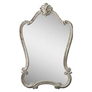 Uttermost Walton Hall White Wall Mirror