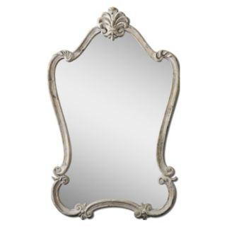 Walton Hall White Wall Mirror