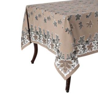 KAF HOME Bontanique Holiday Tablecloth