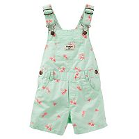 Toddler Girl OshKosh B'gosh® Tropical Twill Shortalls