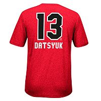 Men's Reebok Detroit Red Wings Pavel Datsyuk Rush Tee