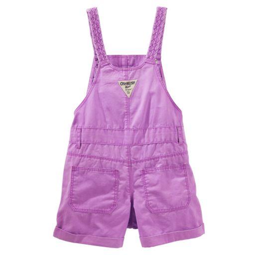 Toddler Girl OshKosh B'gosh® Braided Strap Shortalls