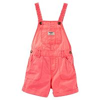 Toddler Girl OshKosh B'gosh® Braided Strap Shortalls