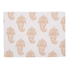 KAF HOME Rani Paisley 4 pc Placemat Set