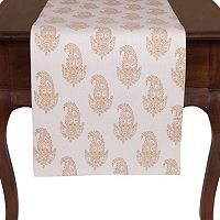 KAF HOME Rani Paisley Table Runner - 16