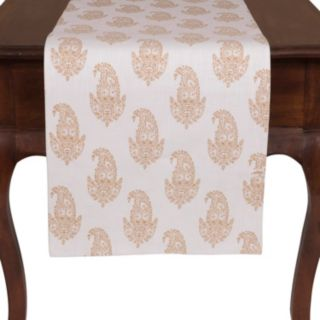 "KAF HOME Rani Paisley Table Runner - 16"" x 90"""