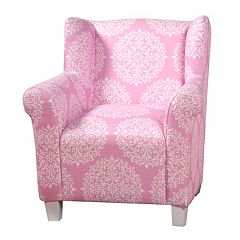 HomePop Medallion Accent Chair