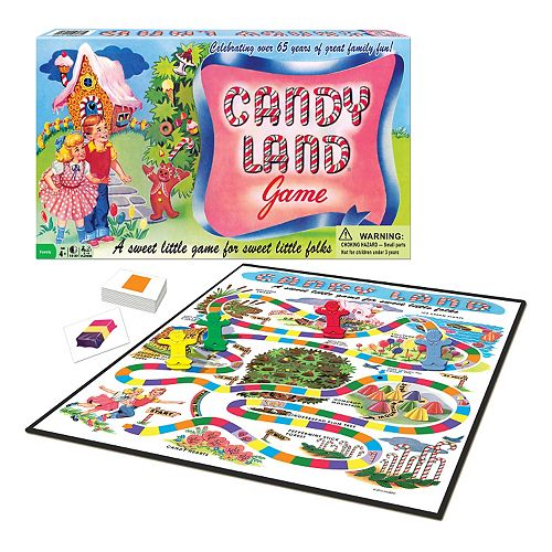 Candy Land 65th Anniversary by Winning Moves
