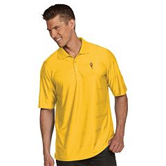 Men's Antigua Arizona State Sun Devils Illusion Desert Dry Extra-Lite Performance Polo