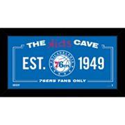 Steiner Sports Philadelphia 76ers 10' x 20' Kids Cave Sign