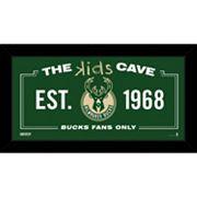 Steiner Sports Milwaukee Bucks 10' x 20' Kids Cave Sign