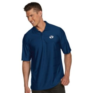 Men's Antigua BYU Cougars Illusion Desert Dry Extra-Lite Performance Polo