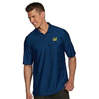 Men's Antigua Cal Golden Bears Illusion Desert Dry Extra-Lite Performance Polo