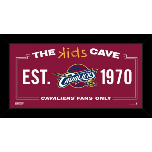 Steiner Sports Cleveland Cavaliers 10″ x 20″ Kids Cave Sign