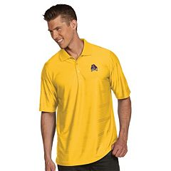 Men's Antigua East Carolina Pirates Illusion Desert Dry Extra-Lite Performance Polo