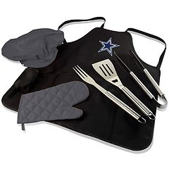 Picnic Time Dallas Cowboys BBQ Apron & Tote
