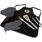 Picnic Time Green Bay Packers BBQ Apron & Tote