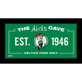 "Steiner Sports Boston Celtics 10"" x 20"" Kids Cave Sign"