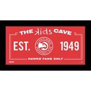 Steiner Sports Atlanta Hawks 10' x 20' Kids Cave Sign