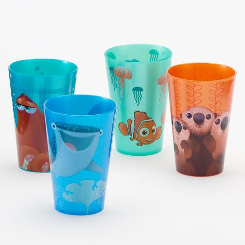 Disney / Pixar Finding Dory 4-pc. Cup Set by Jumping Beans®