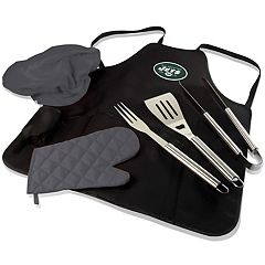 Picnic Time New York Jets BBQ Apron & Tote
