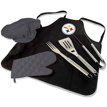 Picnic Time Pittsburgh Steelers BBQ Apron & Tote