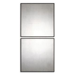 Matty Squares Wall Mirror 2-piece Set