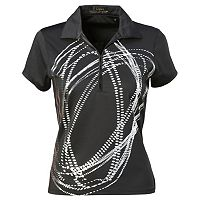 Women's Nancy Lopez Dance Golf Polo