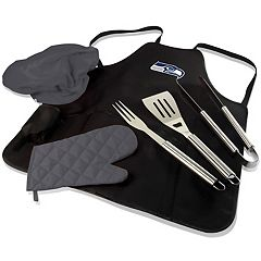 Picnic Time Seattle Seahawks BBQ Apron & Tote
