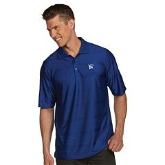Men's Antigua Memphis Tigers Illusion Desert Dry Extra-Lite Performance Polo