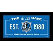 Steiner Sports Dallas Mavericks 10' x 20' Kids Cave Sign