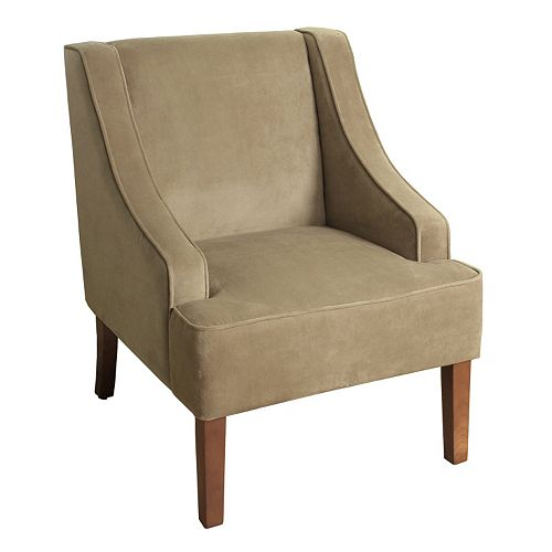 HomePop Velvet Accent Chair