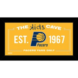 "Steiner Sports Indiana Pacers 10"" x 20"" Kids Cave Sign"
