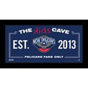 Steiner Sports New Orleans Pelicans 10' x 20' Kids Cave Sign