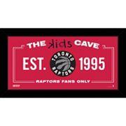 Steiner Sports Toronto Raptors 10' x 20' Kids Cave Sign