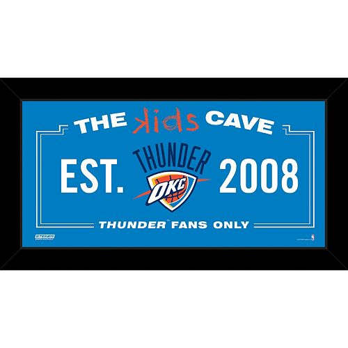 Steiner Sports Oklahoma City Thunder 10 x 20 Kids Cave Sign