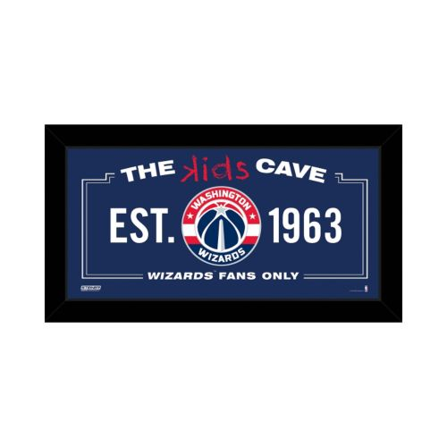 Steiner Sports Washington Wizards 10″ x 20″ Kids Cave Sign