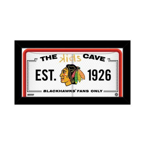 Steiner Sports Chicago Blackhawks 10 x 20 Kids Cave Sign